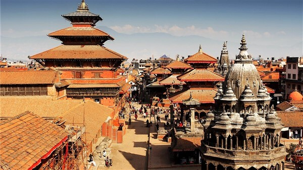 the ancient monuments in Kathmandu durbar square