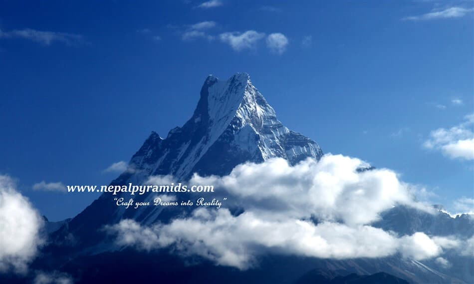 mountain Fishtail - the holy mountain in Nepal - Defy preferring the same trekking destination and get real