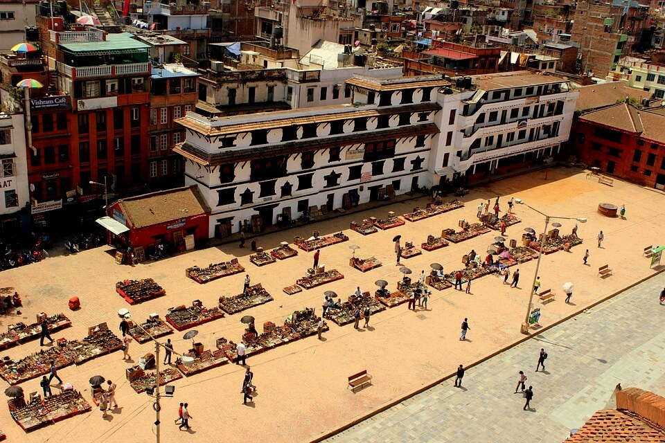 Kathmandu Durbar square - and the local people